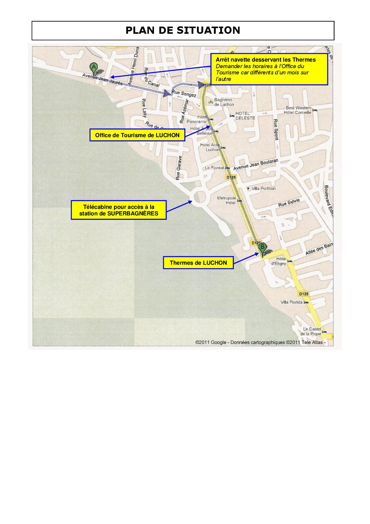 Location luchon - Office de tourisme luchon ...
